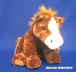 brown horse plush stuffed animal toy el paso