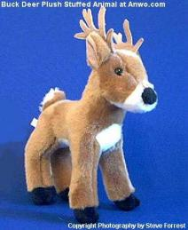 buck deer plush stuffed animal toy