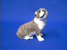 bulldog figurine sandicast