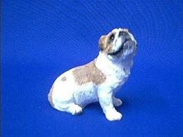 bulldog sandicast figurine