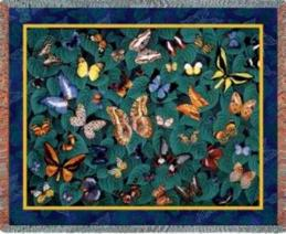 butterfly blanket throw tapestry butterfly dance