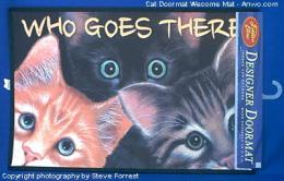 cat doormat welcome mat usa