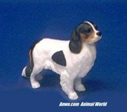 cavalier king charles spaniel figurine stone critters statue