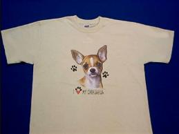 chihuahua t shirt by Animal World