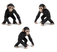 chimpanzee toy mini good luck miniature anwo