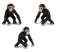 chimpanzee toy mini good luck miniature anwo