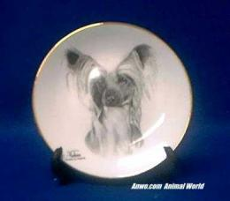 chinese crested plate porcelain
