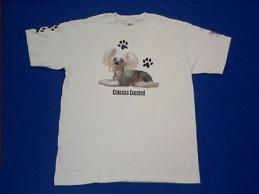 chinese crested t shirt