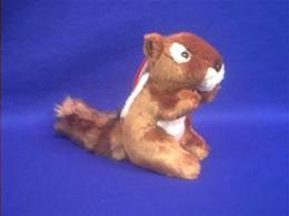 chipmunk plush stuffed animal