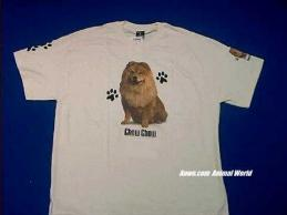 chow chow t shirt usa