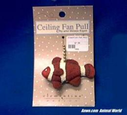 clownfish ceiling fan pull