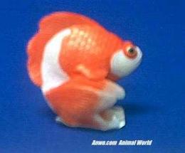 goldfish figurine stone critters