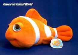 clownfish plush stuffed animal toy