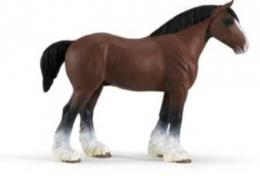 clydesdale stallion toy miniature replica