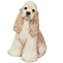 buff cocker spaniel figurine sandicast ms203