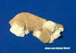 cocker spaniel figurine sandicast snoozer sz101