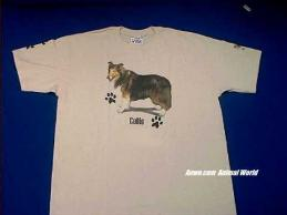 collie t shirt
