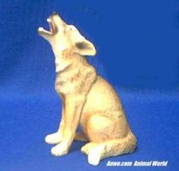 coyote figurine statue