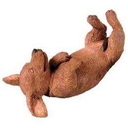 dachshund figurine sandicast red sz130