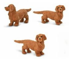dachshund toy mini good luck anwo