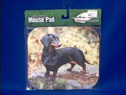 dachshund mousepad black tan