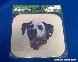 dalmatian mouse pad face