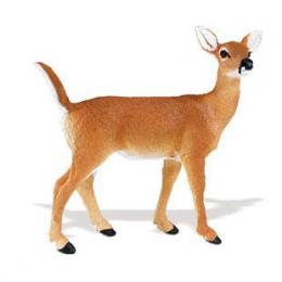 deer doe toy miniature figurine