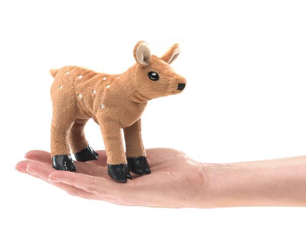 Deer Fawn Finger Puppet