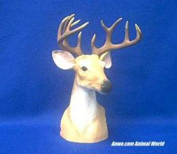 deer head figurine buck