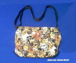 dog breed collage purse