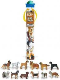 dogs toy tube assortment