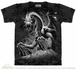 black dragon t shirt