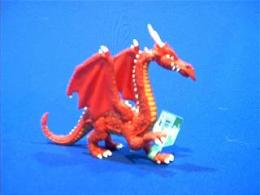 red dragon toy