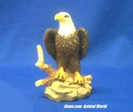 eagle figurine statue small