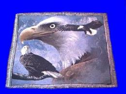 eagle throw blanket