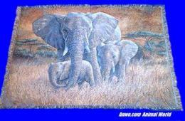 elephant blanket throw tapestry