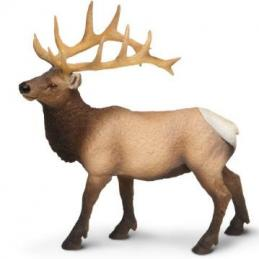 elk toy miniature bull elk
