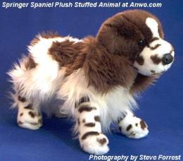 english springer spaniel plush stuffed animal toy