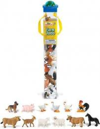 farm toy tube animals