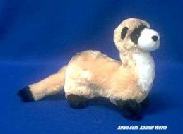 ferret plush stuffed animal toy dapper