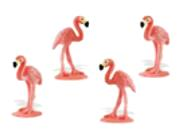 flamingo mini toy good luck miniature