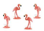 flamingo mini toy good luck miniature