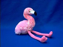 flamingo stuffed animal plush pink