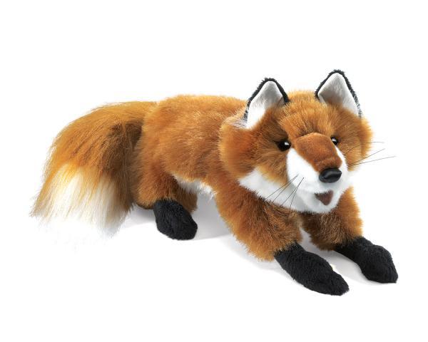 fox-puppet-plush-lying-down