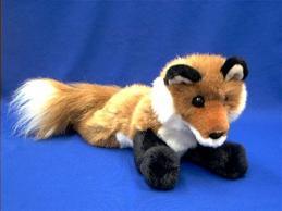 fox stuffed animal plush roxy red fox