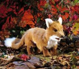 fox puppet large