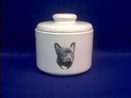 french bulldog jar