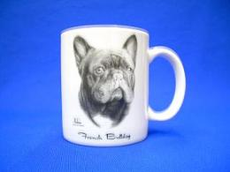 french bulldog mug
