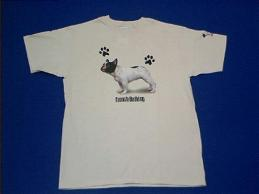 french bulldog t shirt