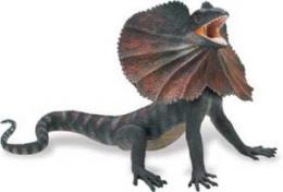 frilled lizard toy miniature